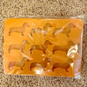Other - Dachshund silicone ice cube tray. New in bag